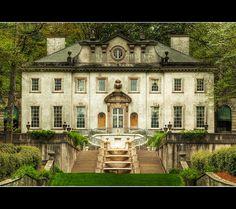 The Swan House at the Atlanta History Center ~ So beautiful!