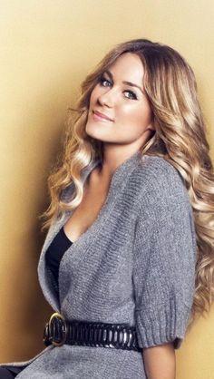 Lauren-Conrad. Love her hair and her in general