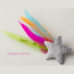 sweet feather hair pin