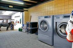Power Wash: Horse Blanket Industrial Strength Washing Machines from Meile.