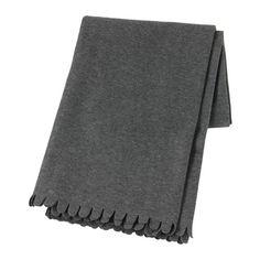 IKEA - POLARVIDE, Plaid, , Il plaid in pile è morbido sulla pelle e si può lavare in lavatrice.