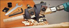 Veritas® Dowel Maker - wonder if this would help make straighter spindle shafts?