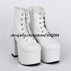 151 straps Queen 6011A бай сладкий принцесса лолита панк готический туфли на высоком каблуке обувь сапоги купить на AliExpress