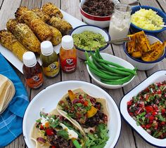 Vegan Taco Lunch with Lucky Taco Hot Sauce to fire things up!