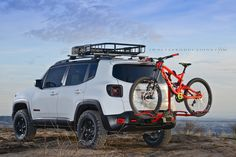 Jeep renegade trailhawk Photo: jwolfeproductions.com GT Fury DH bike