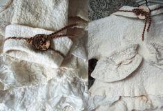 woolen coat by Svetlana Vronski. Details.