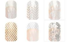 BRIDES! Are you getting stressed the closer it gets to your wonderful day? Let me save you some time and introduce you to Jamberry Nails. These are a vinyl wrap that are heat and pressure applied, many different designs to choose from. They last up to 2 weeks on fingers and up to 6 weeks on toes. You know what that means? That means you can have fabulous looking nails for the Wedding and you won't have to worry about your Honeymoon cause they will last through that too. No dry time and no…