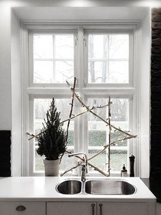 Christmas decorations. Even for the kitchen.