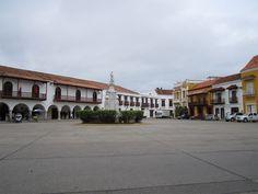 Plaza de Aduana - Cartagena - antes