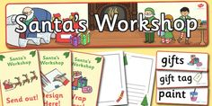 Santa's Workshop Role Play Pack - twinkl
