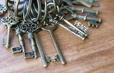 déco vintage clef