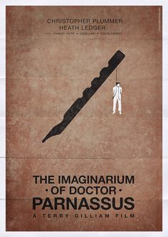 The Imaginarium of Doctor Parnassus (2009) ~ Minimal Movie Poster by Franco Mathson