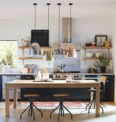 These Scandinavian Kitchen Ideas Perfectly Capture Nordic Living Scandinavian Kitchen Design Ideas For A Stylish Cooking . Kitchen Layout, New Kitchen, Kitchen Dining, Kitchen Decor, Kitchen Ideas, Awesome Kitchen, Kitchen Sale, Kitchen Inspiration, Dining Rooms