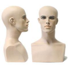 Male Mannequin Head Form with Bust]  http://www.displayimporter.com/products/MN-413.html?gclid=Cj0KEQiAsdCnBRC86PeFkuDJt_MBEiQAUXJfLTwbxcEl99gJrUBVDAklyxOYHHgvN04JwrS8fLzJ-1waAqZs8P8HAQ