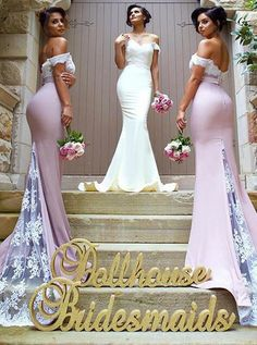 Off The Shoulder Mermaid Prom Dresses, Formal Dresses, Graduation Party Dresses, Banquet Gowns,Sweet on Luulla
