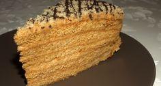 Marlenka by Apróséf Honey Cake, Cake Art, Cake Designs, Oreo, Cake Recipes, Food And Drink, Favorite Recipes, Sweets, Cookies