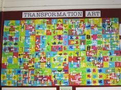Room 3 - Outram School: Transformation Art - Maths