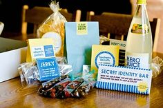 Super Hero Kit would be a great gift bag for guest