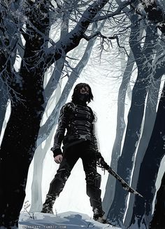 The Winter Soldier - Captain America: The Winter Soldier by Evan Kart                                                                                                                                                      More