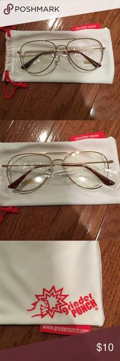 Imitation Glasses Never worn. Comes with a drawstring storage bag. Make an offer or bundle and save 30%! Accessories Sunglasses