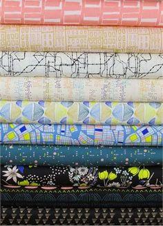 Fabricworm Giveaway: Leah Duncan's Gramercy in Nightfall