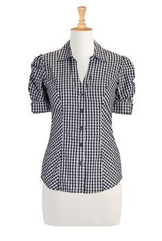 Shop Womens Fashion Clothing - Womens sleeveless tops, long sleeve shirts, short sleeve blouses - | eShakti.com