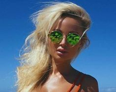 Screenshot: Girl - Glasses Round Sunglasses, Mirrored Sunglasses, Sunglasses Women, Girls With Glasses, Round Frame Sunglasses