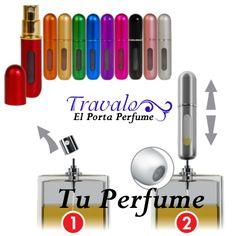 El perfume es un complemento natural de la elegancia. ¡Lo Llevaras con El Porta Perfume TRAVALO Contigo Siempre! #TravaloVzla