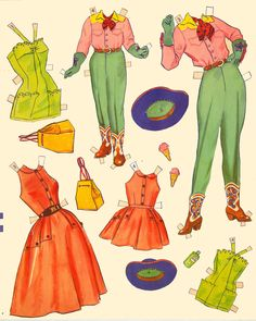 Big N Little Sister 1951 Merrill #1549* The International Paper Doll Society by Arielle Gabriel for all paper doll and paper toy lovers. Mattel, DIsney, Betsy McCall, etc. Join me at ArtrA, #QuanYin5 Linked In QuanYin5 YouTube QuanYin5!