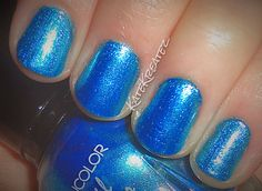 Kate Kreatez!: Swatch Time!: Kleancolor Metallic Collection!