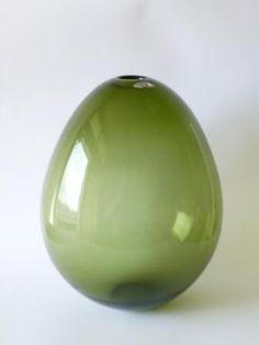 Big Soap Bubble Vase Kaj Franck Nuutajarvi 1960s Signed | eBay Soap Bubbles, Finland, Green Colors, Vases, Glass Art, 1960s, Feminine, Shape, Craft
