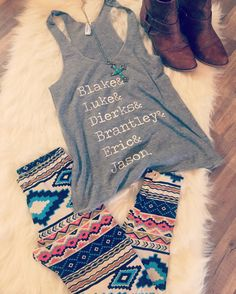 Country Boys/ Country Tank/ by dirtroadavenue on Etsy