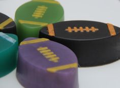 Number 1 Fan Football Glycerin Soap for by CaliseSoapworks on Etsy