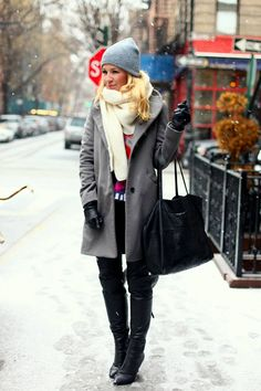 Winter In The City ( Coats & Hats )
