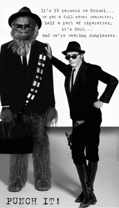 THE MOST AWESOME THING I'VE SEEN ALL DAY!!! - Han and Elwookiee Blues
