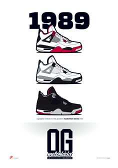 OG Sneaker Series x MelonKicks Prints