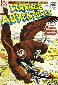 1961 ... Flying Gorilla Menace! We're definitely not in Kansas anymore, Toto...