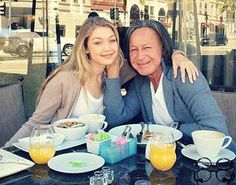 Gigi Hadid and dad (Mohamed Hadid) - - - he is rich, but now, he is alone. what is the use of having a lot of wealth if it is must filled with emptiness, without a wife and children?? it is worthless to having a lot of money if cannot taking care of a marriage.