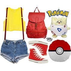 Fashion Inspiration; {Pokemon} Misty
