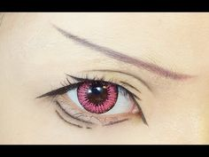 Tutorial : Anime Eye Makeup 52 • Matsuoka Rin