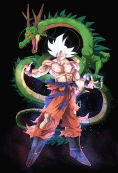 Goku Ultra Instinct Goku Dragon Ball Super Dragon Ball DBS ultra instinct Goku UI migatte no gokui fav