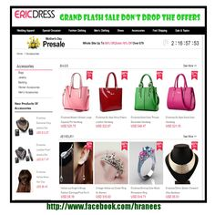 ERIC DRESS 4TH ANV 90% off Check out this great link http://www.kqzyfj.com/click-8043368-12559077-1460632909000 Website…http://farhatasha.wixsite.com/bestericdress Face book... http://www.facebook.com/hraneesft