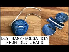 14 diy Bag from old clothes ideas Diy Bags Jeans, Diy Old Jeans, Denim Tote Bags, Diy Bags Purses, Denim Purse, Diy Tote Bag, Denim Bags From Jeans, Diy Bags From Old Clothes, Diy Bag With Zipper