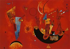 Wassily Kandinsky - Mit und Gegen    $29.99