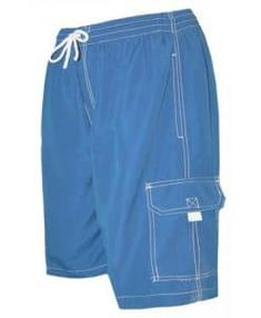 3XL Worth Microfiber Shorts Black//Royal