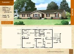 - Stratford Home Center - 3 Bed Bath. Recessed entry, master bedroom bath with neo-angle shower Stratford Homes, Ranch Style Floor Plans, Modular Floor Plans, Neo Angle Shower, Lancaster, Living Area, Master Bedroom, Flooring, How To Plan