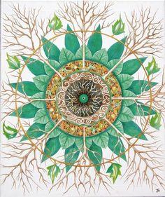 """El mandala término sánscrito podría traducir como """" círculo mágico """" o """" círculo sagrado """" . Ellos tienden a actuar como plantillas de activación de la conciencia. Carl G. Jung estudió mandalas de un amplio campo de las culturas del mundo y épocas , así como de haber abogado por la creación de nuestros propios mandalas como vehículos de trabajo espiritual . Señaló que cuando dibujamos mandalas del centro hacia fuera , tendemos a procesar nuestros problemas o retos personales du jour y…"""