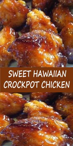 Sweet Hawaiian Crockpot Chicken Recipe Lose this delicious rice . - Sweet Hawaiian Crockpot Chicken Recipe Don& lose this delicious recipe Save it now - Crockpot Dishes, Crock Pot Cooking, Crock Pots, Crockpot Ideas, Cooking Oil, Cooking Bacon, Meat Recipes, Slow Cooker Recipes, Cooking Recipes