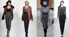 Fashion Trousers Autumn-Winter 2014-2015: High Rise
