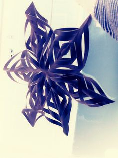 Wall Hanging made at home just out of paper and a pair of Scissors. Extremely easy to make.